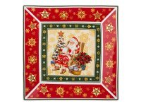 "Блюдо ""christmas collection"" 22*22 см. Hangzhou Jinding (586-056)"