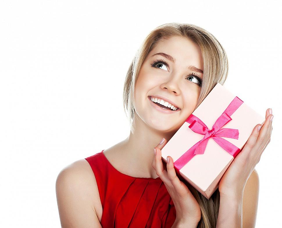 Подарок подруге она в восторге