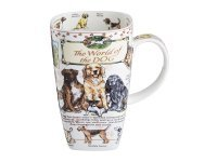 "Кружка ""the world of the dog"" 600 мл. Porcelain Manufacturing (264-218)"