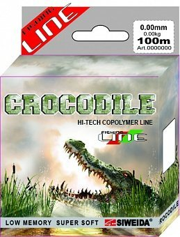 Фото Леска SWD Crocodile 100м 0,35 (10,30кг) ваккум/уп прозрачная (53187) - интернет-магазин МегаТерем в Москве