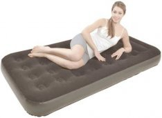 Надувная кровать Relax Flocked air bed Twin JL027273NG (52086)