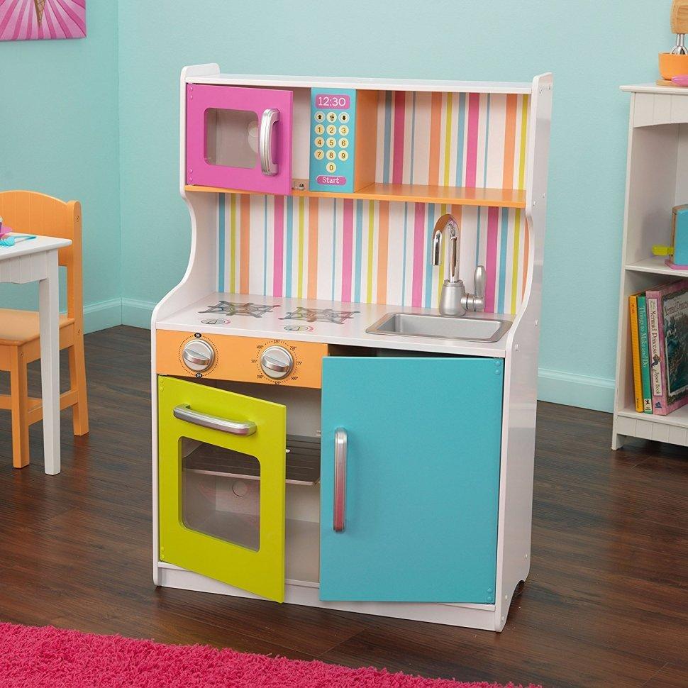 Детская кухня для детского сада своими руками 44